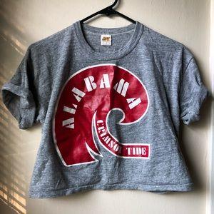 VTG • Alabama Crimson Tide Crop Top